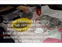 SSD CHEMICALS SOLUTION AUTOMATIC FOR BLACK DOLLARS /CALL